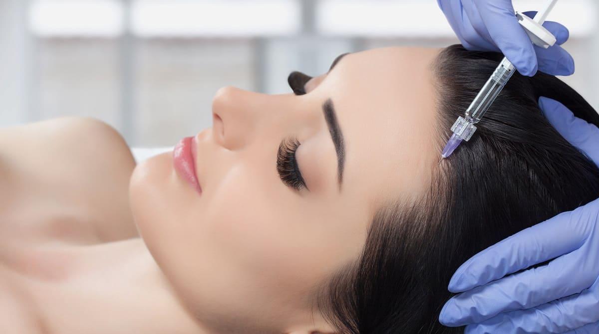 PRP-Behandlung gegen Haarausfall