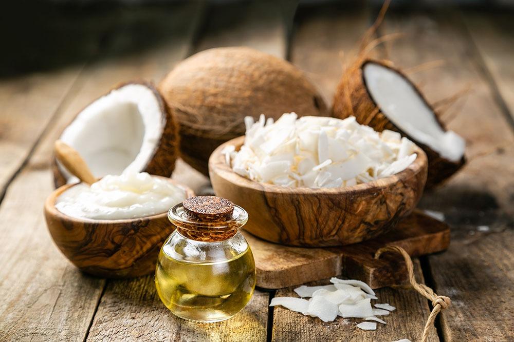 Kokosöl für schöne gesunde Haare und gegen Haarausfall