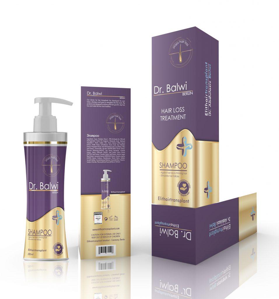 Shampoo gegen Haarausfall - Dr. Balwi