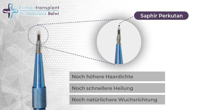 Saphir Perkutan Technik