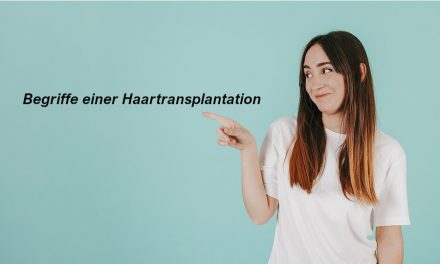 Begriffe Haartransplantation