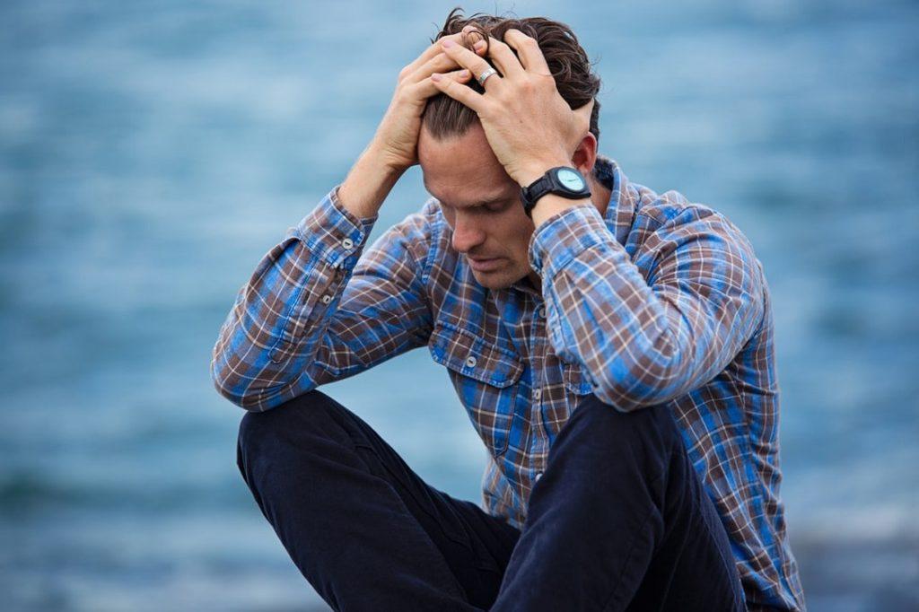 Stress als Ursache für Haarausfall