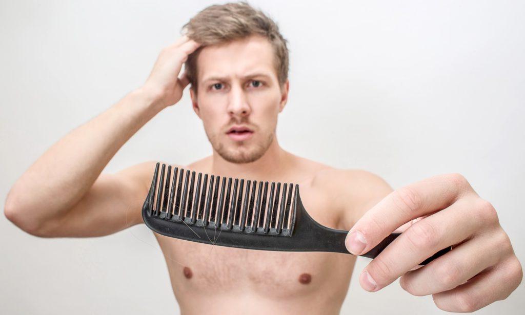 Männer und Haarausfall - Mann muss sich entschieden