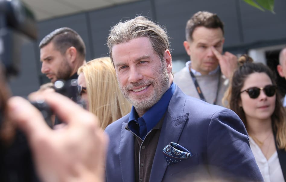 Neue Haare von John Travolta