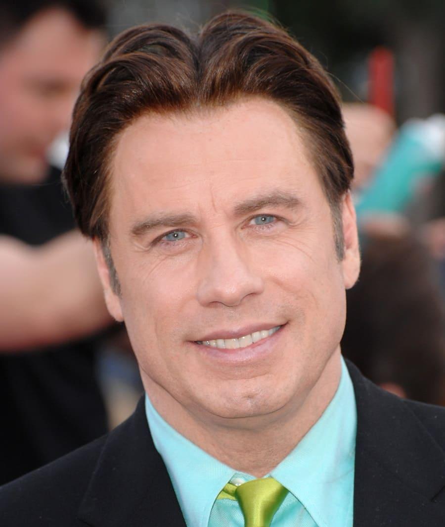 John Travoltas und Mel Gibsons Haare