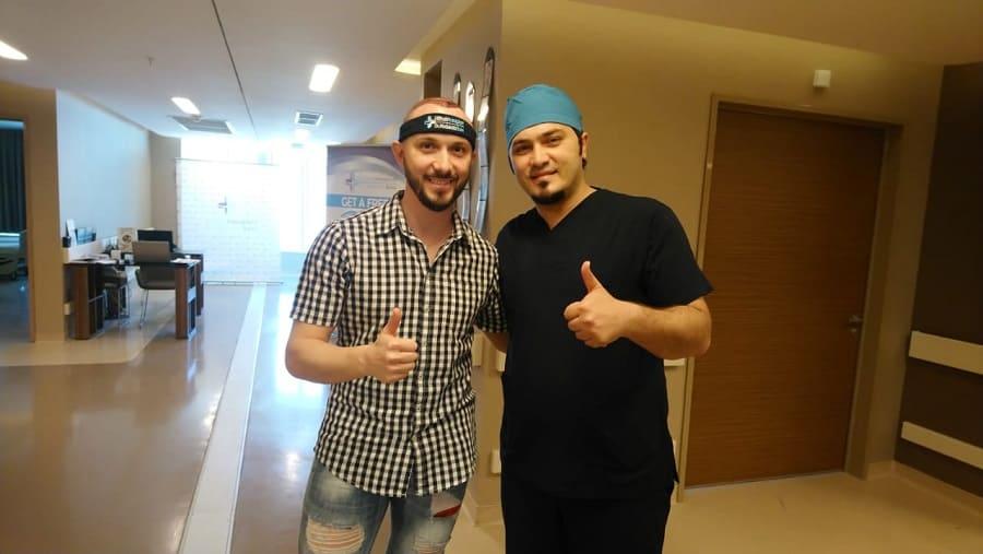 Haartransplantation türkei beste Bewertung