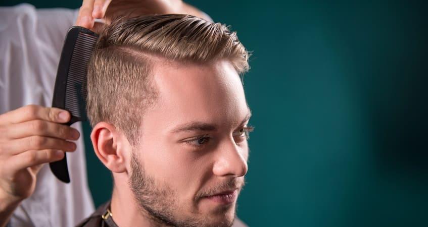 Friseurbesuch nach der Haartransplantation Rasur frühestens nach 3 Monaten