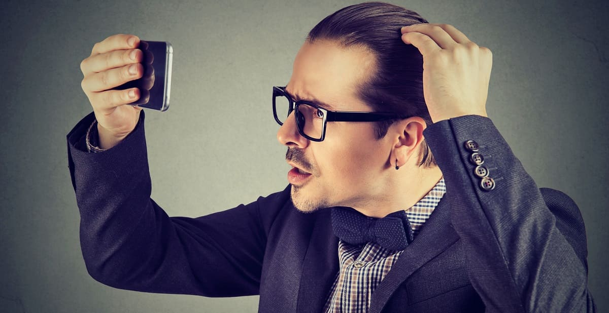 Haartransplantation bei hoher Stirn