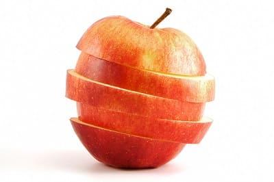 Apfel als Deko
