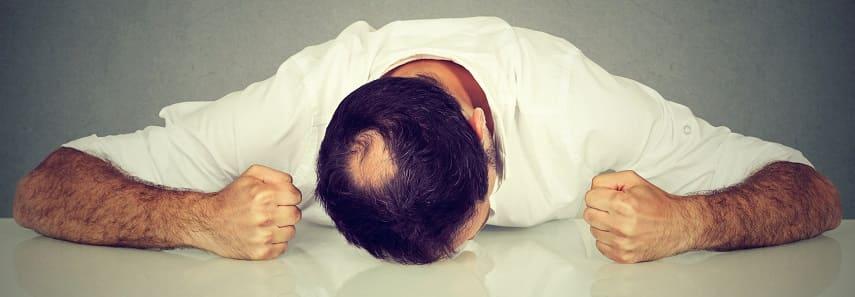 Kreisrunder Haarausfall - Einseitiger Haarausfall