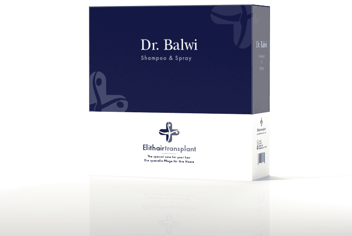Pflegemittel nach Haartransplantation - Dr. Balwi Shampoo