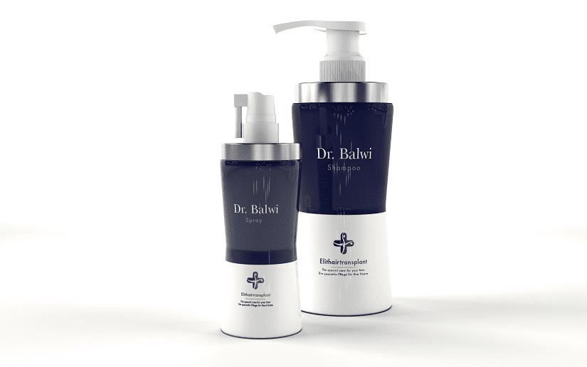 Shampoo spray gegen Haarausfall