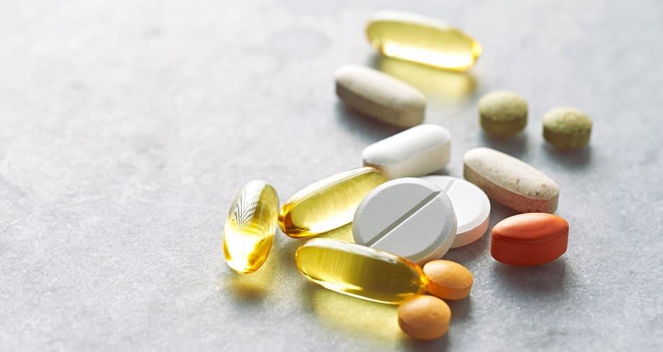 Nahrungsergänzungsmittel bei Haarausfall - Medikamente