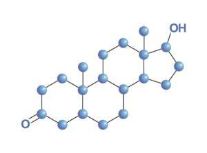 Zusammensetzung von Dihydrotestosteron