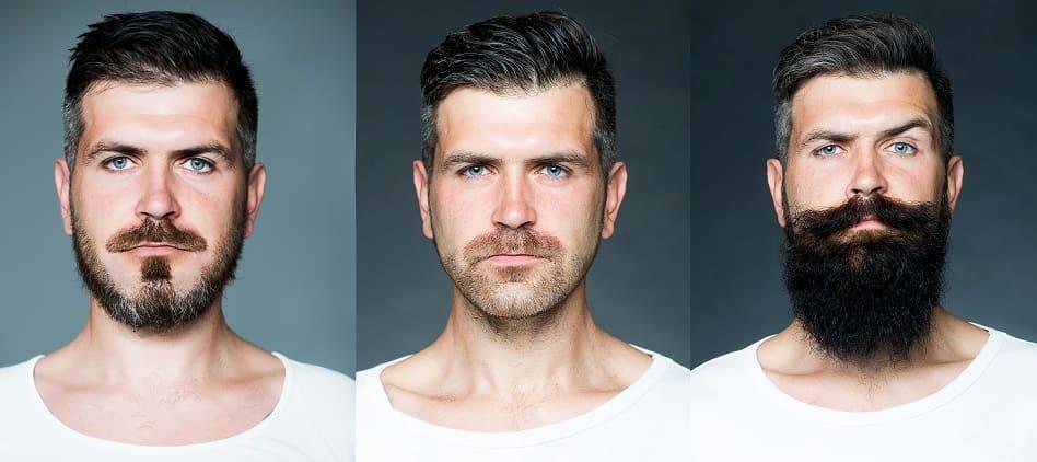Verschiedene Barttypen und ihre Wirkung