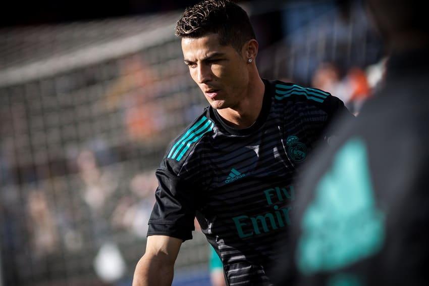 Cristiano Ronaldo während dem Training