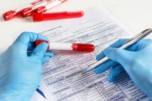 Untersuchung des Blutes