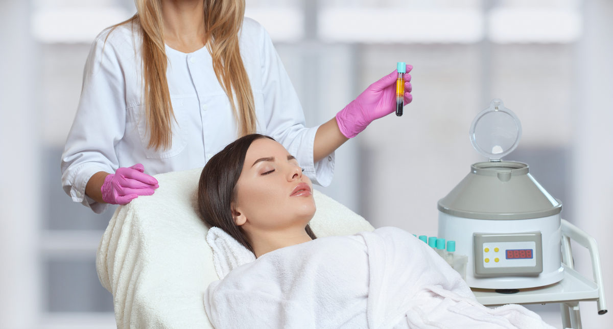PRP-Behandlung nach Haartransplantation