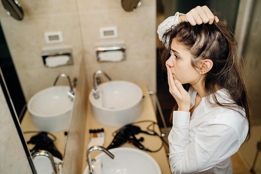Zyklusbedingter Haarausfall
